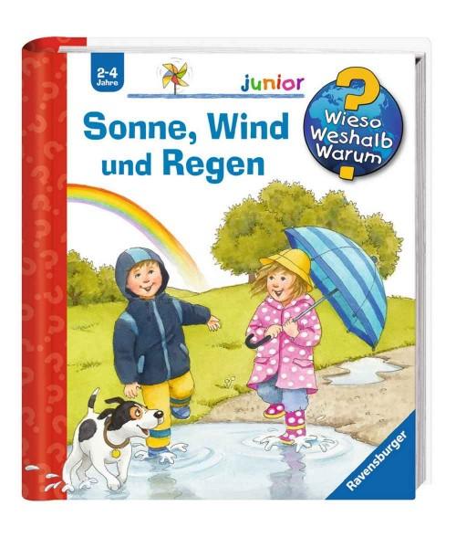 Ravensburger Kinder Buch Wieso Weshalb Warum? Junior Sonne, Wind und Regen