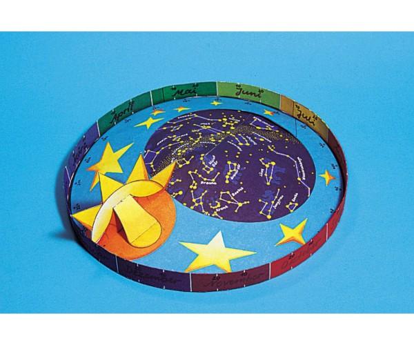 Schreiber-Bogen Kindermodellbau Sternkarte