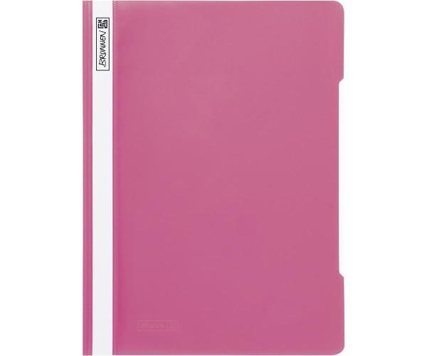Schnellhefter A4 eosin (pink)