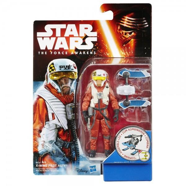 Hasbro Star Wars Basisfigur X-Wing Pilot Asty B4167