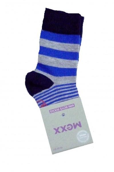 MEXX Jungen Baby Socken gestreift blue