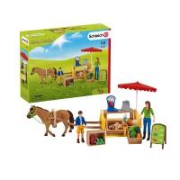 Schleich Farm World Spielset Mobiler Farm Stand