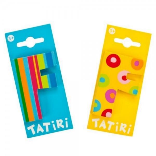 Tatiri Holzbuchstabe F
