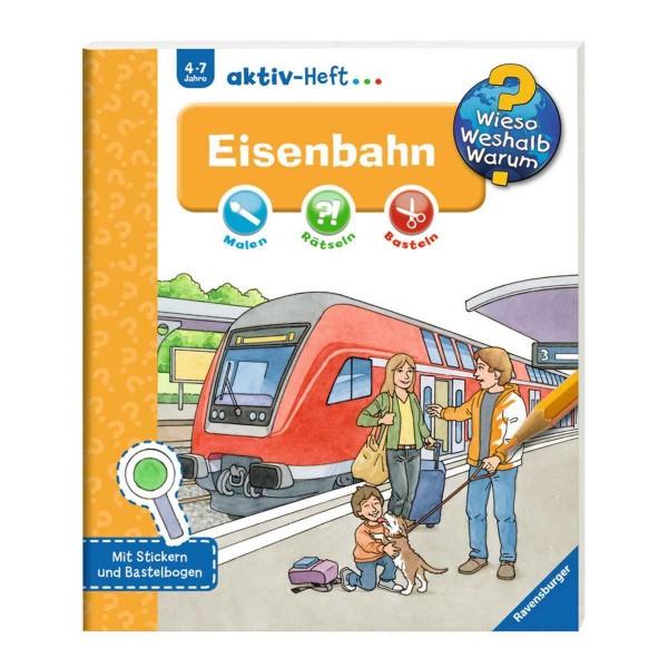 Ravensburger Wieso Weshalb Warum? aktiv-Heft Eisenbahn