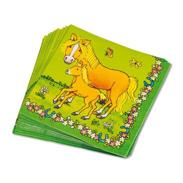 Lutz Mauder Servietten Pferde